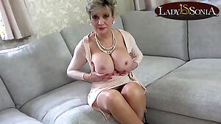 Aunt Gal Sonia caught you tugging again