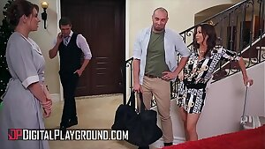 (Sabina Rouge, Ivy Lebelle) -  Survive The Night Scene 1 - Digital Playground